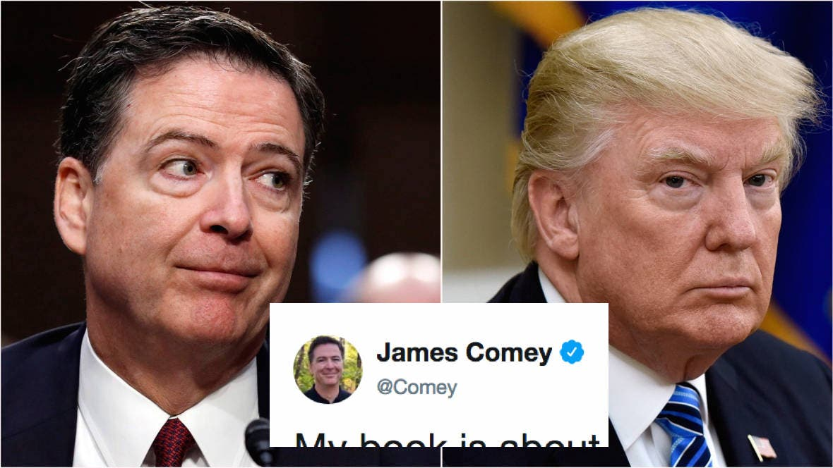 James Comey just took a brilliant swipe at Trump in morning tweet