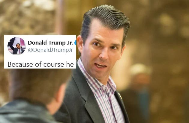 Don Jr. just tried to complain about McCabe's pension and it backfired spectacularly